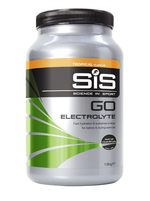 SiS GO Electrolyte - Nutrition sport - Tropical 1,6kg